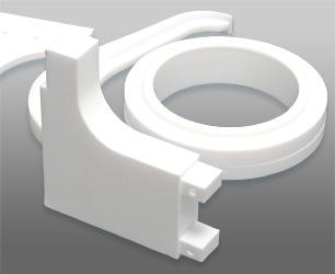 PTFE Kunststoff Fibel